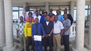 Geochemistry course participants